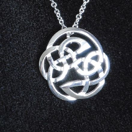 Celtic silver jewellery